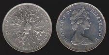 Great Britain 25 New Pence 1980 Km-921 Birthday Queen Mother Unc In Bank Wallet