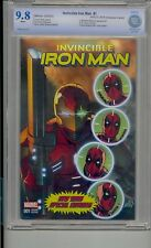 INVINCIBLE IRON MAN 1 CBCS 9.8 NYCC LIEFELD VARIANT NEW MUTANTS 87 DEADPOOL CGC
