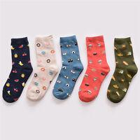 1 Pair Creative Cotton Food Sushi Watermelon Unisex Socks Casual Couple Socks