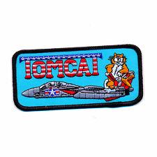 USA TOP GUN Navy Fighter Weapon School Tomcat US Patch Aufnäher Aufbügler 0902