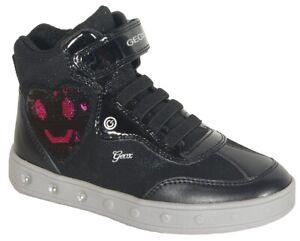 reduzierung Geox Skylin sneakers girl black/fuchsia