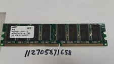1GB DDR DDR1  PC2700 PC 2700 333MHZ 333 184-PIN 184 DIMM NON-ECC  RAM 64X8