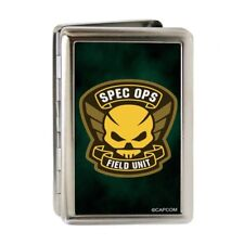Resident Evil Spec Ops Field Unit Metal Multi-Use Wallet Business ID Card Holder