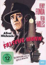Alfred Hitchcock + DVD + Der falsche Mann + Spannender Thriller mit Kultfaktor +
