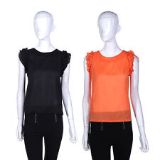 Unbranded Lace Casual Sleeveless Tops & Shirts for Women