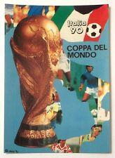 Cartolina Italia 90 Campionati Mondiali Di Calcio - Retro Semifinali E Final