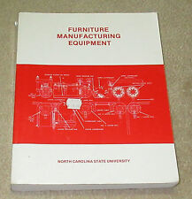 Furniture Manufacturing Equipment