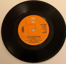"""ABBA Take A Chance On Me/Marionette. 1977 7"""" 45 EPIC Record VG"""