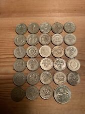 More details for 28 x old round £1 one pound coins @ one 2 pound coin.