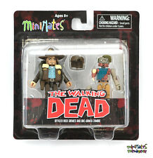 Walking Dead Minimates Series 1 Officer Rick Grimes & One-Armed Zombie