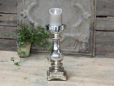 Chic Antique*Kerzenständer m. Schliff * 32cm*Bauernsilber*Kerzenleuchter* Advent
