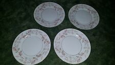 Lot of 4 Harmony House Fine China Woodhue Bread Desert Plate 8""