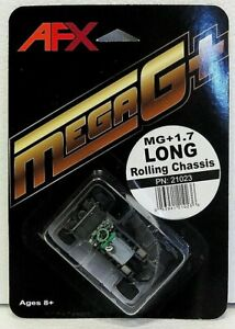 AFX 21023 MEGA-G+ 1.7 LONG ROLLING CHASSIS New