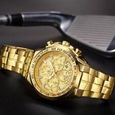 herren armbanduhr wasserdicht gold