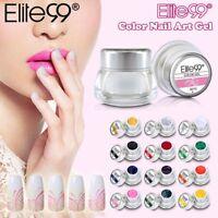 Elite99 3D Nail Art Paint Color Gel Draw Painting Acrylic Color UV Gel Tip DIY