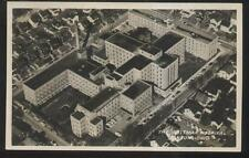 REAL PHOTO Postcard CANTON Ohio/OH  Aultman Hospital Aerial view 1950's