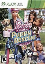 BARBIE AND HER SISTERS PUPPY RESCUE XBOX 360! GROOM PETS LIKE SIMS, ANIMAL DOG