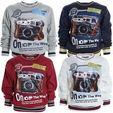 Jungen-Pullover aus Baumwollmischung