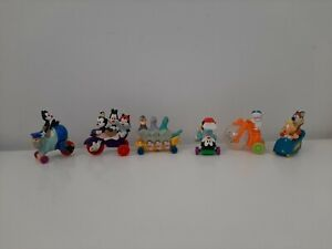 1993 McDonald's Happy Meal Toy Lot of 6 Animaniacs Figures