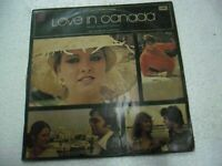 LOVE IN CANADA HEMANT KUMAR 1979 sharon prabhakar RARE LP RECORD BOLLYWOOD EX