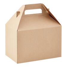 50 KRAFT GABLE GIFT BOXES / PLAIN GABLE BOXES