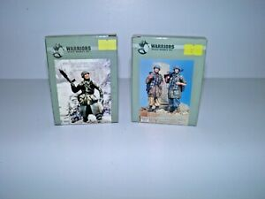Lot Of 2 Warriors 1:35 WWII German Soldiers Kit's #35027 & # 35051 Complete