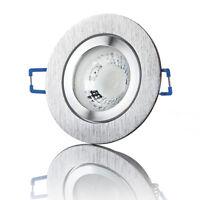 LED Einbaustrahler Bad Außen Feuchtraum Einbauleuchte Spot flach IP44 - lambado®