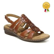 383114fea646 NaturalSoul by naturalizer Bev Womens Sandals Tan size 6.5 NEW