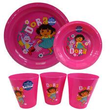 ZAK DESIGNS  MEAL SETS  DORA THE EXPLORER  9 PACK BRAND NEW  SET BPA FREE