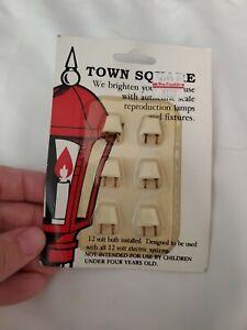 Vintage Town Square 12 Volt Bulb Packages 12-N-0-000