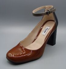 """GABRIEL CANDY""Clark's Women/Ladies COGNAC Leather Shoes size 5 D."