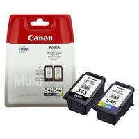 Genuine Original Canon PG545 Black & CL546 Colour Ink Cartridge For PIXMA MG2950