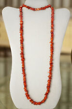 """38"""" Baltic Amber 10mm Bead Nugget Chip Necklace PASS HEAT ACID FLOAT TESTS  ac6"""
