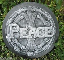 cement plaster  mold ABS plastic mold peace plaque casting mold