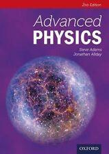 Advanced Physics by Jonathan Allday, Steve Adams 2ED ( Paperback, Oxford )   NEW
