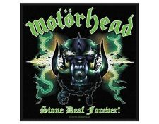 MOTORHEAD stone deaf forever 2010 WOVEN SEW ON PATCH official merchandise LEMMY