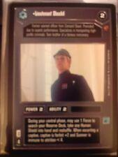 Star Wars CCG Cloud City Lieutenant Sheckil NrMint-MINT SWCCG