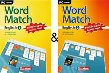 WordMatch Englisch 1 + 2 #SPARPACK Grund-und Aufbauwortschatz-Cornelsen Software