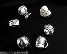 25pcs Surtidos De Metal espaciador perlas encajan serpiente cadena