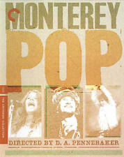 MONTEREY POP Festival The Criterion Collection Blu-Ray Joplin Hendrix SEALED $35