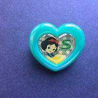 Run'A - Princess Glitter Heart Plastic Pin Snow White Disney Pin 22547
