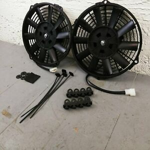 1990 - 1999 Chevy or GMC Truck 9 DUAL FANS Air Cooling Fan Deluxe Cooler