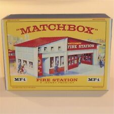 Matchbox Lesney / Accessory MF-1 Fire Station Red Roof empty box repro