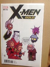 X-MEN GOLD # 1  controversial issue SKOTTIE YOUNG VARIANT EDITION
