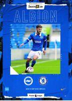 Brighton v Chelsea 2020/21 Premier League Programme