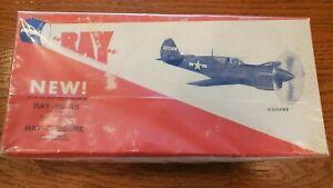P-40 WarHawk. Vintage Balsa Model Airplane Kit. New.