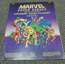 Avengers Coast-To-Coast - Marvel Super Heroes - Role Playing Game TSR MA2 6874