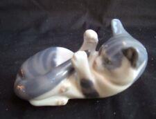 Royal Copenhagen Playful Cat Porcelain Figurine # 727 ~ Tabby Kitten