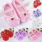 0-18M Mädchen Bow Lauflernschuhe Hausschuhe Säugling Krabbelschuhe Baby Schuhe