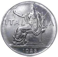 "SAVOIA-Vittorio Emanuele III (1 Lira ""Buono"") 1928"